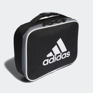 adidas • foundation insulated lunch box black